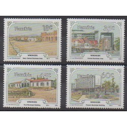 Namibie - 1990 - No 632/635 - Sites