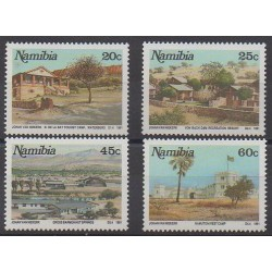 Namibie - 1991 - No 667/670 - Sites