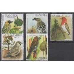 Namibia - 2008 - Nb 1142/1146 - Birds