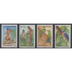 Namibie - 2002 - No 963/966 - Oiseaux