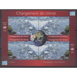 Nations Unies (ONU - Genève) - 2008 - No 620/623 - Environnement
