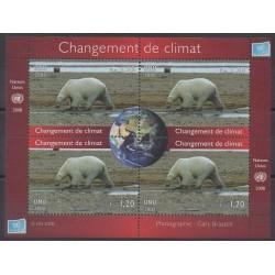 Nations Unies (ONU - Genève) - 2008 - No 616/619 - Environnement