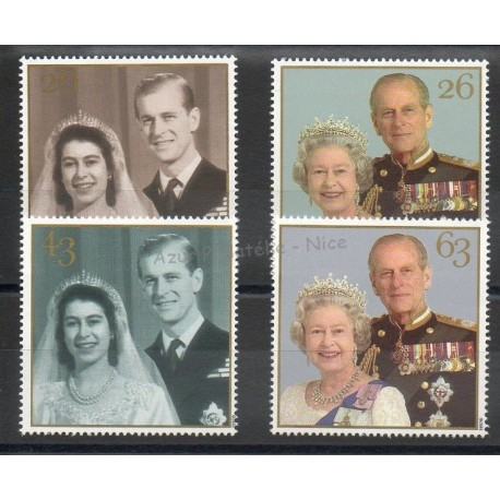 Grande-Bretagne - 1997 - No 2007/2010 - Royauté