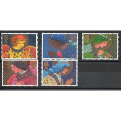 Great Britain - 1998 - Nb 2061/2065 - Christmas