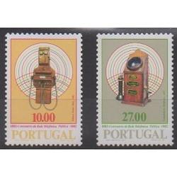 Portugal - 1982 - No 1541/1542 - Télécommunications