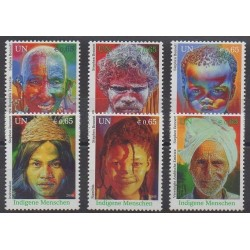 Nations Unies (ONU - Vienne) - 2009 - No 630/635