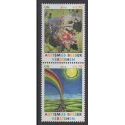 Nations Unies (ONU - Vienne) - 2012 - No 754/755 - Santé ou Croix-Rouge