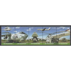 Nations Unies (ONU - Vienne) - 2010 - No 688/692 - Aviation - Hélicoptères