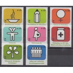 Nations Unies (ONU - Vienne) - 2009 - No 622/629 - Santé ou Croix-Rouge