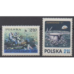 Poland - 1971 - Nb 1969/1970 - Space
