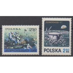 Pologne - 1971 - No 1969/1970 - Espace