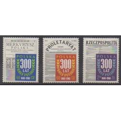 Pologne - 1961 - No 1082/1084