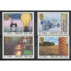 Great Britain - 1986 - Nb 1210/1213 - Sciences