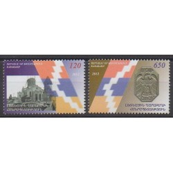 Armenia (Karabakh) - 2012 - Nb 49/50 - Various Historics Themes