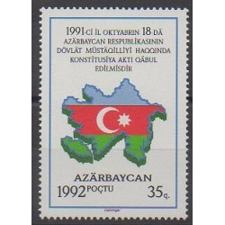 Azerbaïdjan - 1992 - No 77 - Histoire