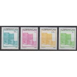 Azerbaijan - 1993 - Nb 112/115