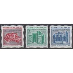 Azerbaïdjan - 1994 - No 116/118 - Monuments