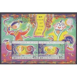 Christmas (Island) - 1995 - Nb BF17 - Horoscope - Philately