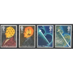 Great Britain - 1991 - Nb 1526/1529 - Sciences