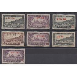 Sénégal - 1944 - No 189/195 - Neufs avec charnière