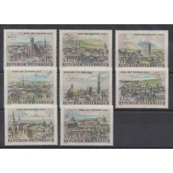 Austria - 1964 - Nb 1001/1008 - Sights - Philately