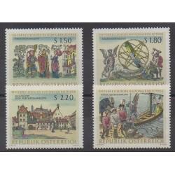 Austria - 1966 - Nb 1054/1057