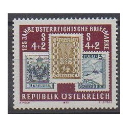 Austria - 1975 - Nb 1333 - Stamps on stamps