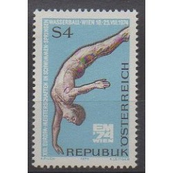 Austria - 1974 - Nb 1290 - Various sports