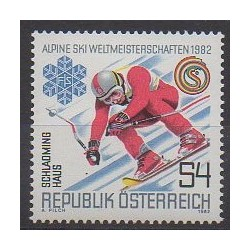 Austria - 1982 - Nb 1524 - Various sports