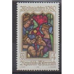 Austria - 1980 - Nb 1491 - Christmas