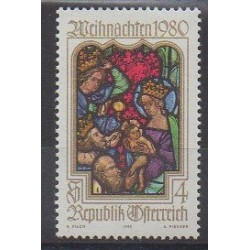 Autriche - 1980 - No 1491 - Noël