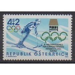 Autriche - 1984 - No 1594 - Jeux olympiques d'hiver