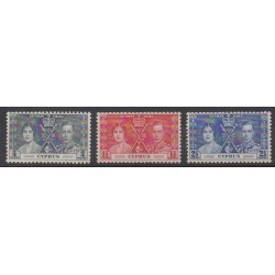 Cyprus - 1937 - Nb 131/133 - Royalty