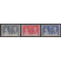 Chypre - 1937 - No 131/133 - Royauté - Principauté