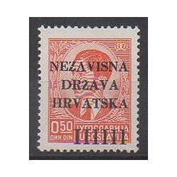 Croatie - 1941 - No 1