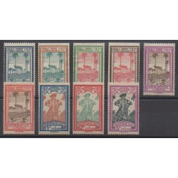 Guiana - 1929 - Nb T13/T21 - Mint hinged