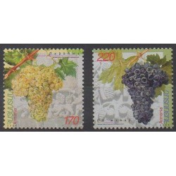 Armenia - 2004 - Nb 446/447 - Fruits or vegetables