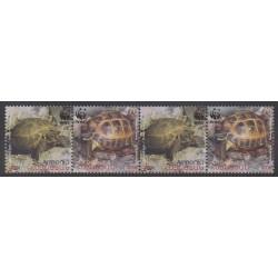Arménie - 2007 - No 499/502 - Reptiles