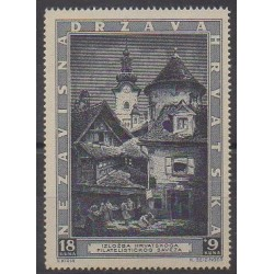 Croatia - 1943 - Nb 104 - Churches - Philately