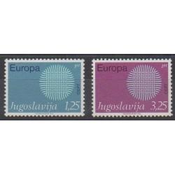 Yugoslavia - 1970 - Nb 1269/1270 - Europa