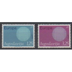 Yougoslavie - 1970 - No 1269/1270 - Europa