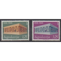 Yugoslavia - 1969 - Nb 1252/1253 - Europa