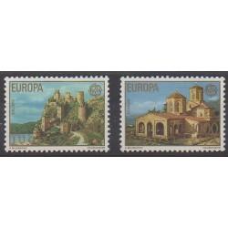 Yugoslavia - 1978 - Nb 1607/1608 - Monuments - Europa