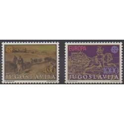 Yugoslavia - 1979 - Nb 1663/1664 - Postal Service - Europa