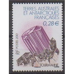 French Southern and Antarctic Territories - Post - 2010 - Nb 556 - Minerals - Gems