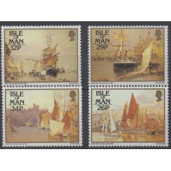 Man (Isle of) - 1987 - Nb 326/329 - Boats