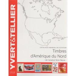 Timbres d'Amérique du nord de Canada à Terre-Neuve (Edition 2018)