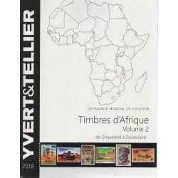 Timbres d'Afrique : Volume 2 de Griqualand à Zoulouland (Edition 2018)