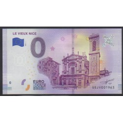 Euro banknote memory - Le Vieux Nice - 2018-1 - Nb 1963