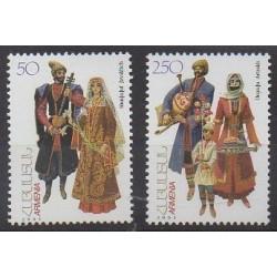 Arménie - 2001 - No 399/400 - Costumes